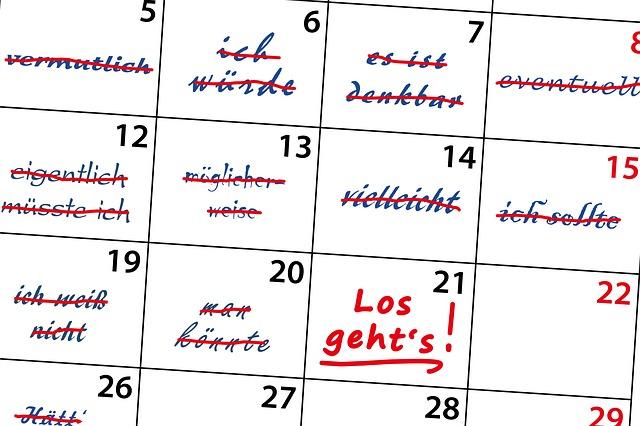 Kalendář povinností