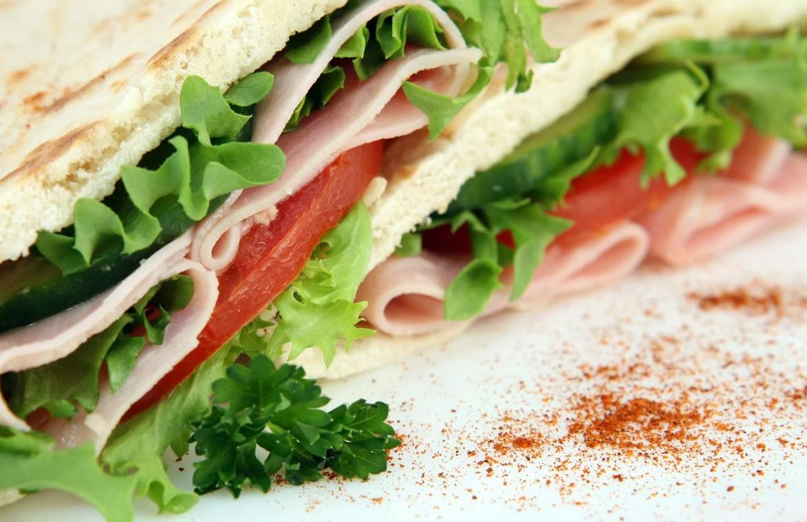 zdravý sendvič